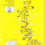Routekaart Romantische Strasse