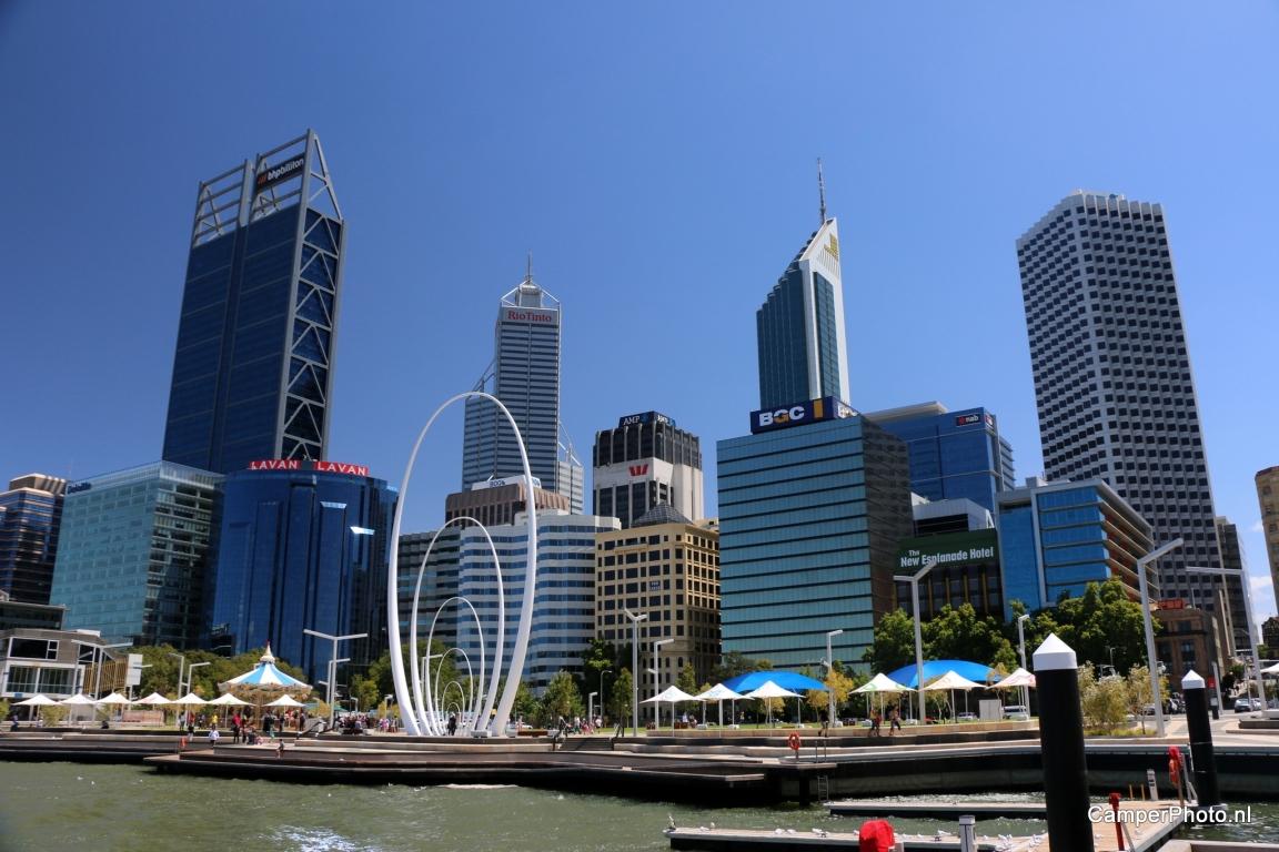 Skyline van Perth