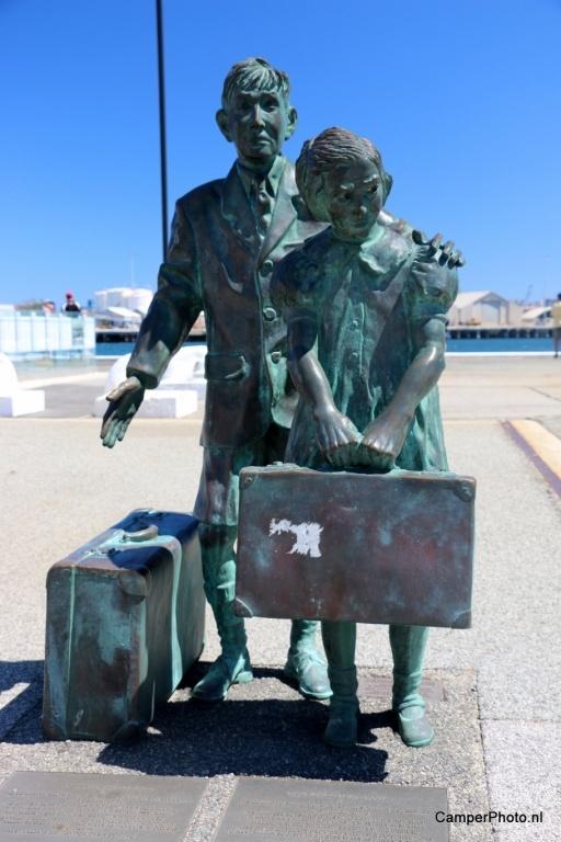 Fremantle, aankomst immigranten