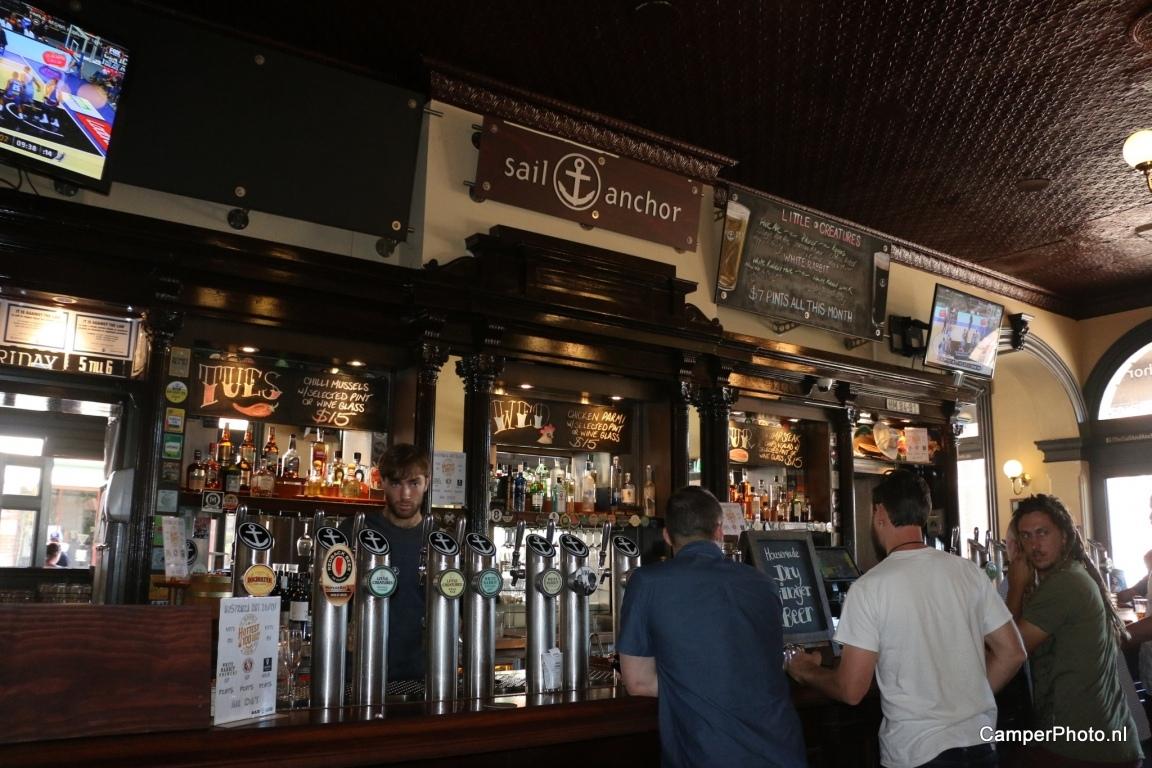 Fremantle, café met geschiedenis van onze schoonzoon