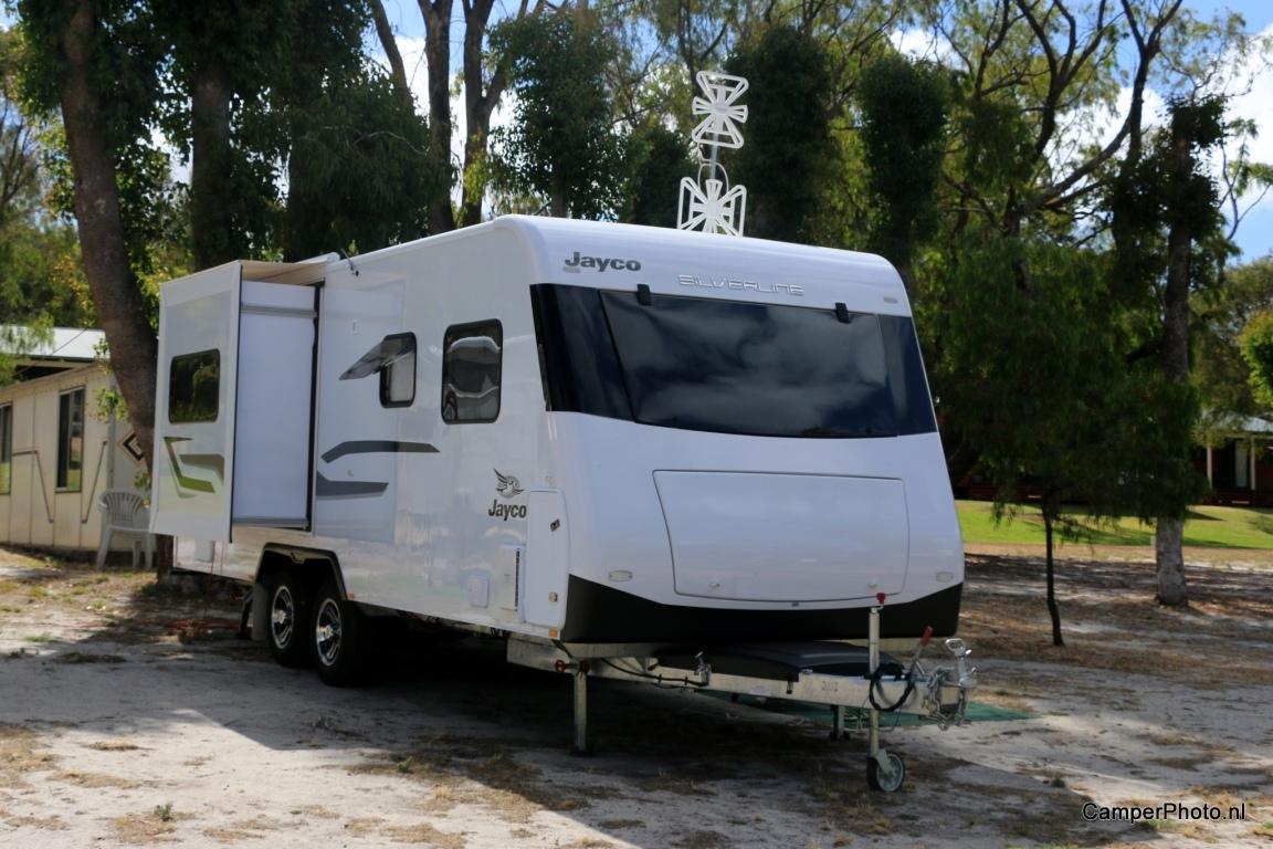 Australische camping, in de buurt van Augusta