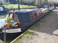 Narrowboat voor de smale kanalen