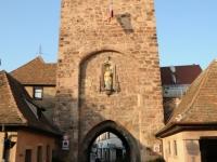 Toegang tot het centrum van Molsheim
