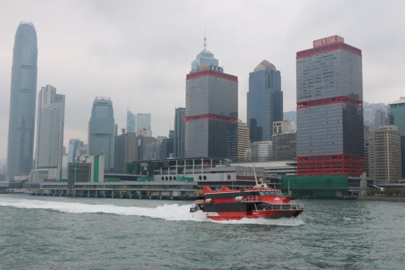 Uitzicht op Macau Ferry Terminal