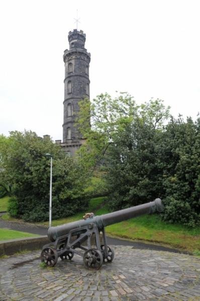 Nelson's Monument, on Calton Hill, Edinburgh